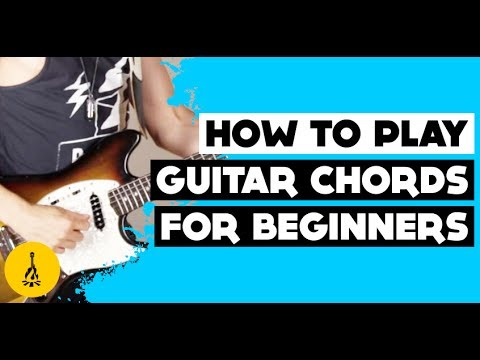 How To Play Guitar Chords For Beginners Electric Best Easiest