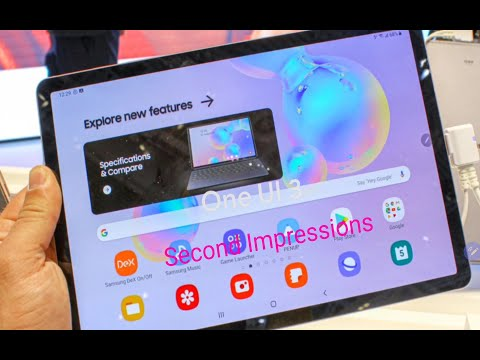 Samsung Galaxy Tab S6 One Ui 3.1 (Android 11) Second Impressions
