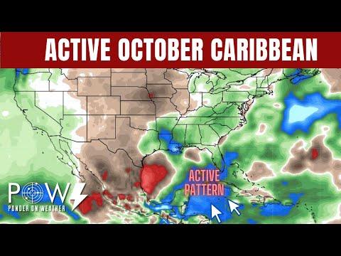 Active October Caribbean - Next Tropical Development - POW Weather Channel