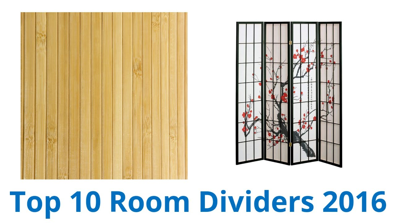 10 Best Room Dividers 2016 - YouTube