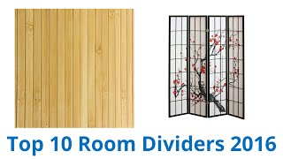 10 Best Room Dividers 2016