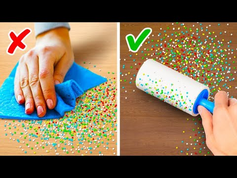 36 HOUSE CLEANING TIPS THAT MAKE OUR LIFE WAY EASIER