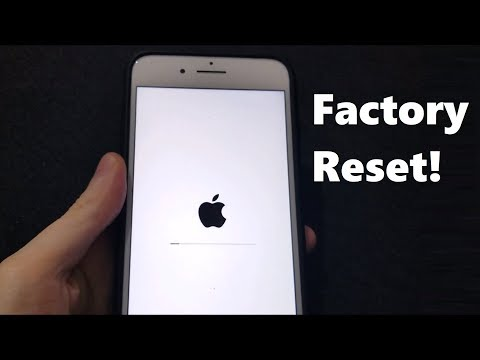 Factory Reset ANY iPhone 2019 (iOS 12 & Newer)