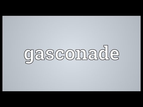 Gasconade Meaning