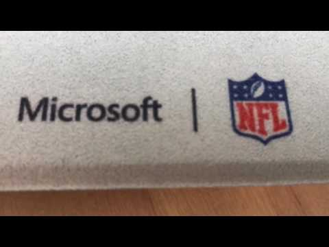 Microsoft NFL branded Surface Pro 4 keyboard covers blogger review