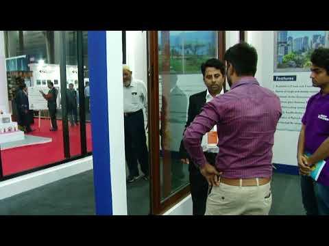 Geeta Aluminium - Window Partner at IDAC Exhibition