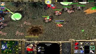 Warcraft 3 FFA - сильный сосед