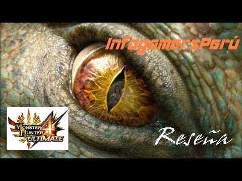 Monster Hunter 4:Ultimate Reseña InfogamersPerú