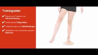 Produktvideo zu Fuß- und Beintrainer Pedalo Pro-Pedes