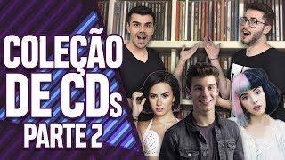 NOSSA COLEÇÃO DE CDS POP - PARTE 2! | Virou Festa