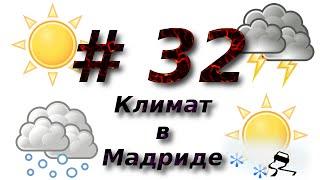 #32: Климат в Мадриде