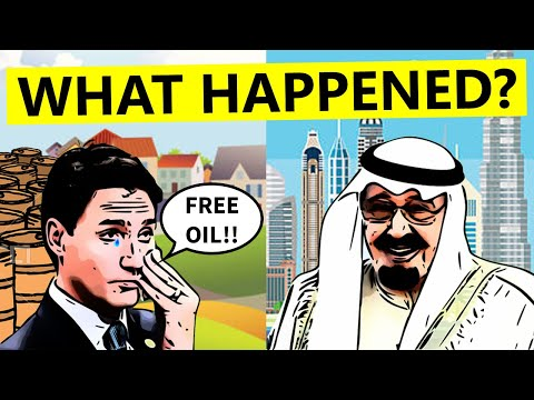 Why Oil Rich Canada is Not Money Rich?