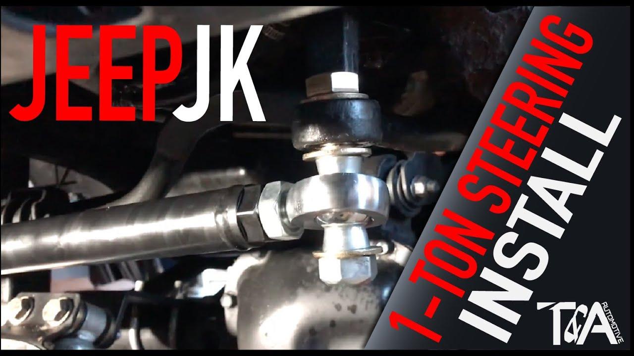 Jeep JK 1-Ton Steering Install