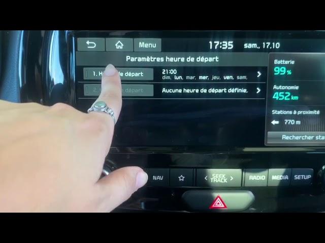 ♻️TUTO♻️ Comment programmer les heures de charges sur son Kia E-Soul