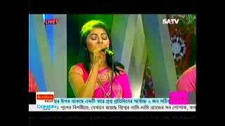 live eid ul fitar musical program sa tv o shathire jeona kokhono dure by rajib luipa