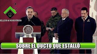 #Hidalgo #Tlalhuelilpan Habla el Director de PEMEX, Octavio Romero Oropeza