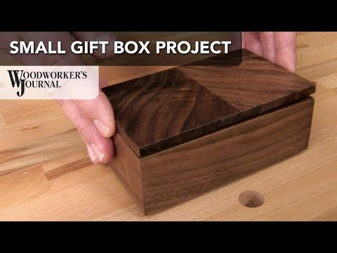 Making a Small Gift Box | JET Sponsored Project