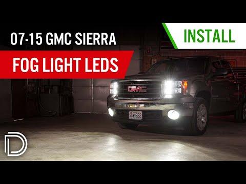 How to Install 2007-2015 GMC Sierra SLF Fog Light LEDs | Diode Dynamics