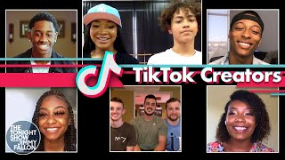 TikTok Creators Break Down and Perform Their Viral Dances | The Tonight Show Starring Jimmy Fallon