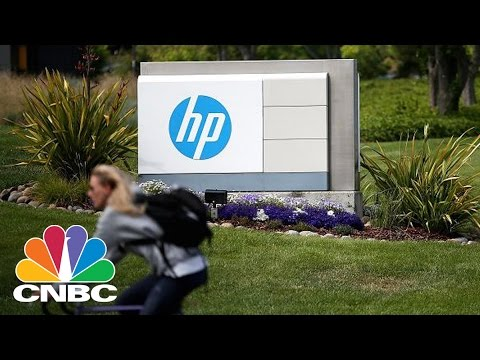 Hewlett Packard Enterprise In Talks To Sell Its Software Division | Tech Bet | CNBC