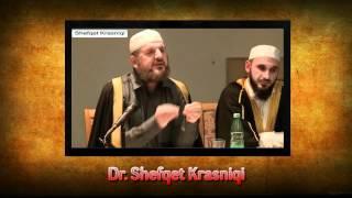 O musliman bashkohuni e mos u përçani - Dr. Shefqet Krasniqi