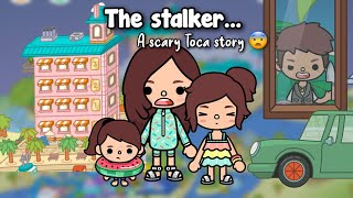 THE STALKER....   Scary Toca life story  Toca shine