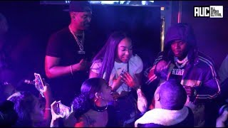 B Simone Finally Gets To Shoot Her Shot With DaBaby At OAK Nightclub In ALT