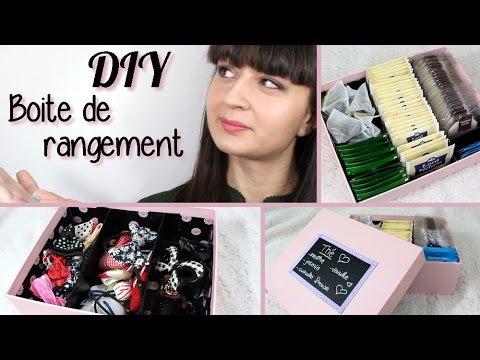 Diy rangements pour th bijoux maquillage youtube - Boite de rangement pour bagues ...