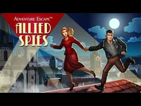 Adventure Escape Allied Spies Full Walkthrough