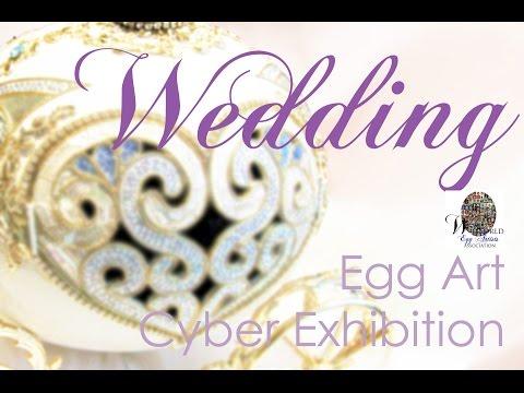 Egg Art - WEDDING THEME