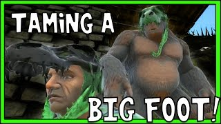 ARK: Survival Evolved - TAMING A GIGANTOPITHECUS! [34]