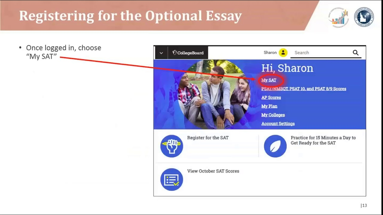 Idaho SAT School Day Optional Essay Overview Webinar - December 2018
