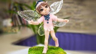 Фея тролли. Сахарная фигурка на проволочном каркасе из принцессы - Я - ТОРТодел!