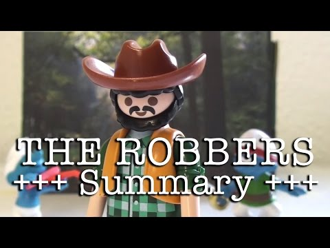 The Robbers to go (Schiller in 10 minutes, English version)