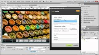 jQuery XPOSE Gallery PRO Dreamweaver Extension - WebAdmin Overview