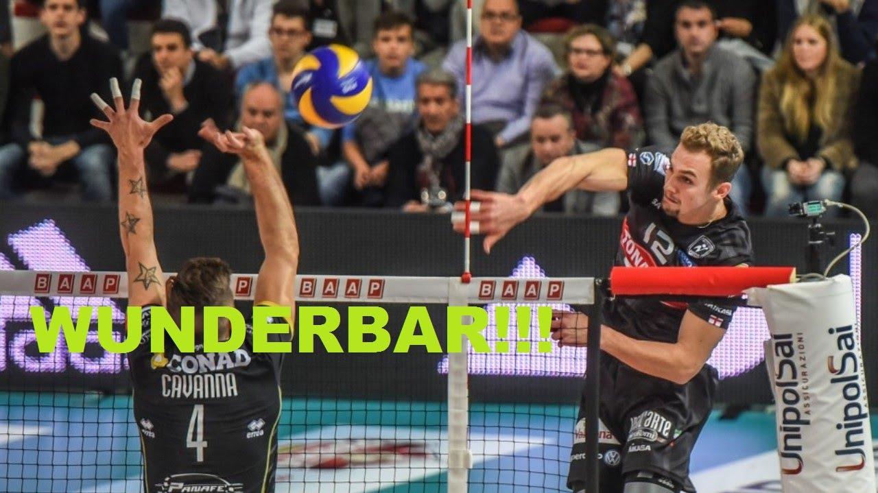 Volley Alexander Berger Mvp Di Milano Padova 1 3 Youtube