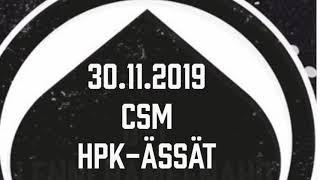 Juniori-Ässät - C1-joukkue - 30.11.2019 CSM HPK-Ässät Maalikooste