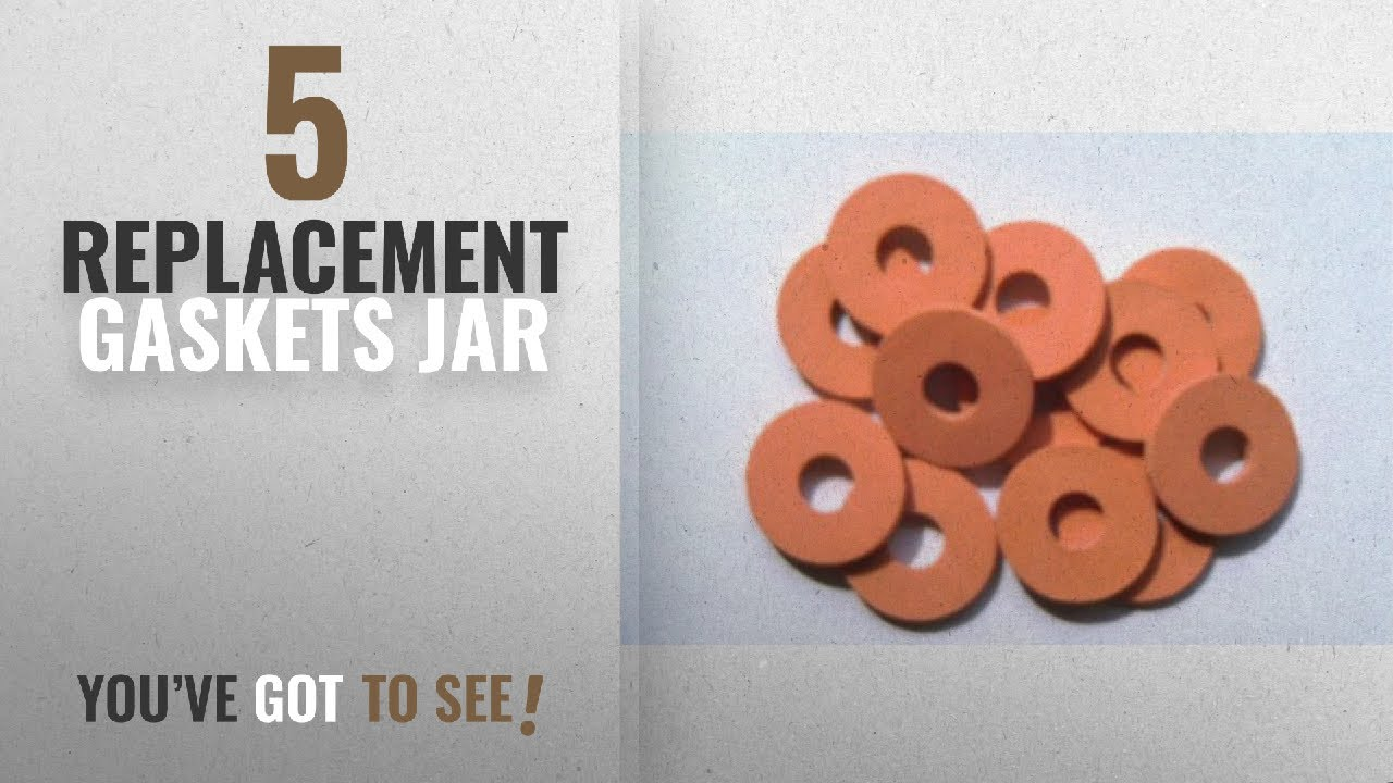 Top 10 Replacement Gaskets Jar [2018]: Replacement Self Forming Gasket for  Swing Top Bottles From