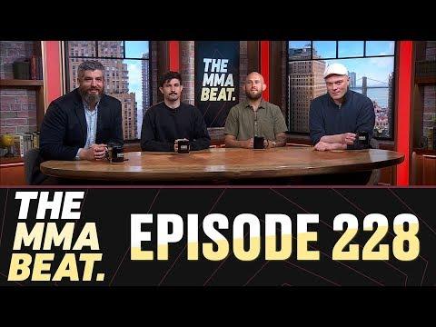 The MMA Beat: Episode 228 (McGregor Speaks Out, Lobov-Malignaggi Trash Talk, UFC Rochester Recap)