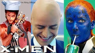 X-Men Series Hilarious Bloopers and Gag Reel - Try Not To Laugh With Hugh Jackman