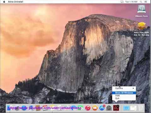 Uninstall Avira Free Antivirus For Mac Guide