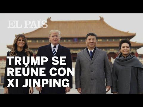 Trump y Xi Jinping se reúnen en Pekín | Internacional