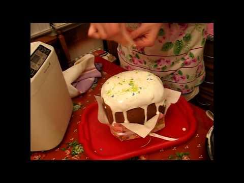 Пасхальный кулич для хлебопечки - кулинарный рецепт