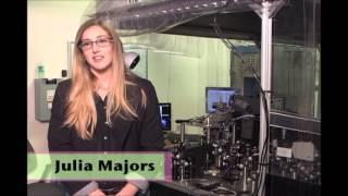 Laser Optics Career Video: Interview with Julia Majors