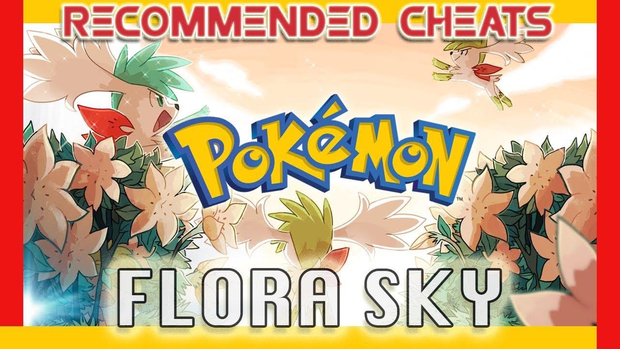 Pokemon flora sky cheats all tm and hm