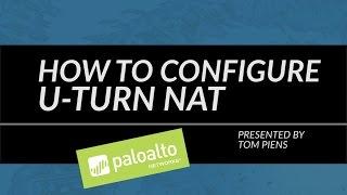 Video Tutorial: How to Configure U-Turn NAT