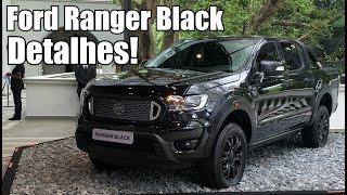 Ford Ranger Black 2019 Diesel em detalhes - Falando de Carro