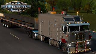 Square tubing | Long Load Transportation | Kenworth K100 - American Truck Simulation