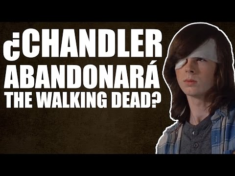 ¿CHANDLER RIGGS (CARL) DEJARÁ THE WALKING DEAD? - The Walking Dead Temporada 7 Capítulo 5