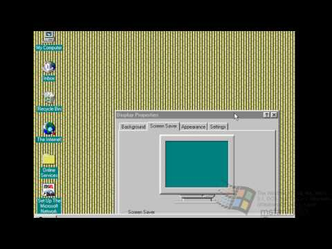 Windows 95 in 2014, 19 years later.
